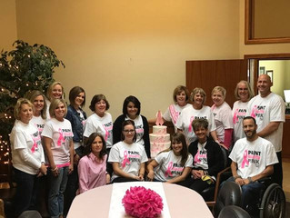 A Heart felt THANK YOU to all who came to our Pink Luncheon and contributed to Paint Gillette Pink!
