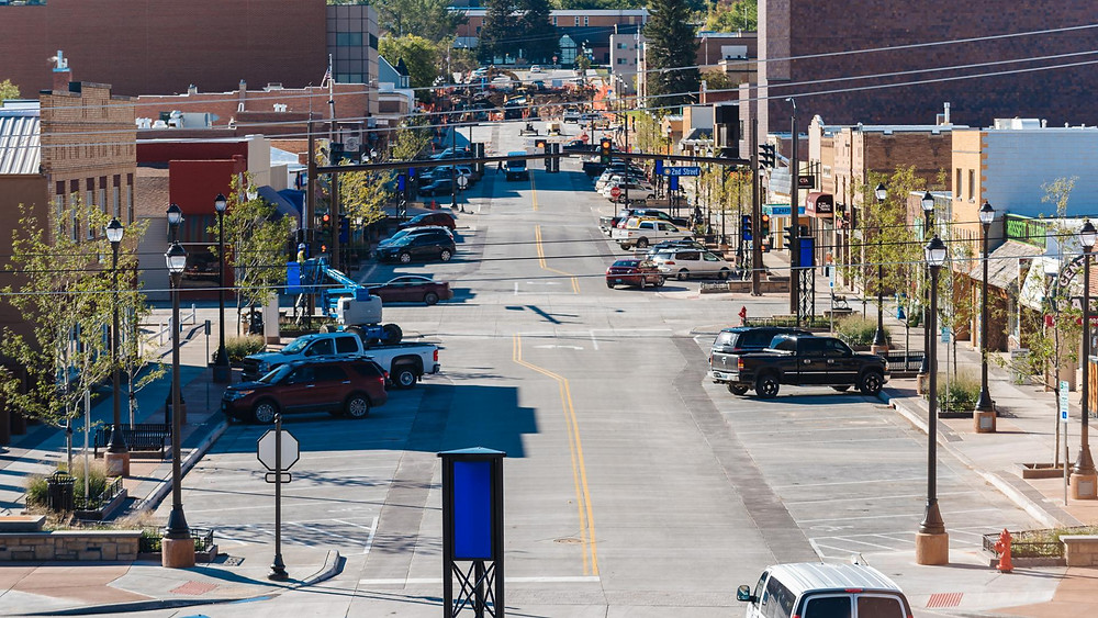 Main Street Downtown Gillette WY