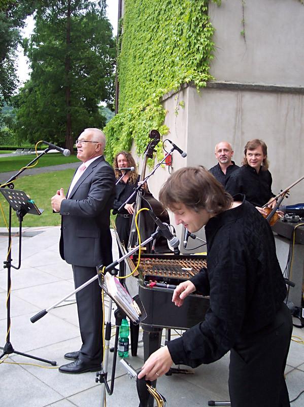 Narozeniny p.Václava Klause