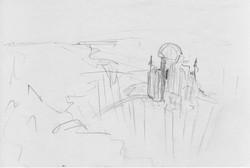 Fire and Lava Concept Sketch