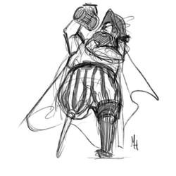 Raunchy pirate for #MerMay #MerMay2017 ._._._._._._._