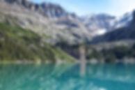 Vand Lake Landskab