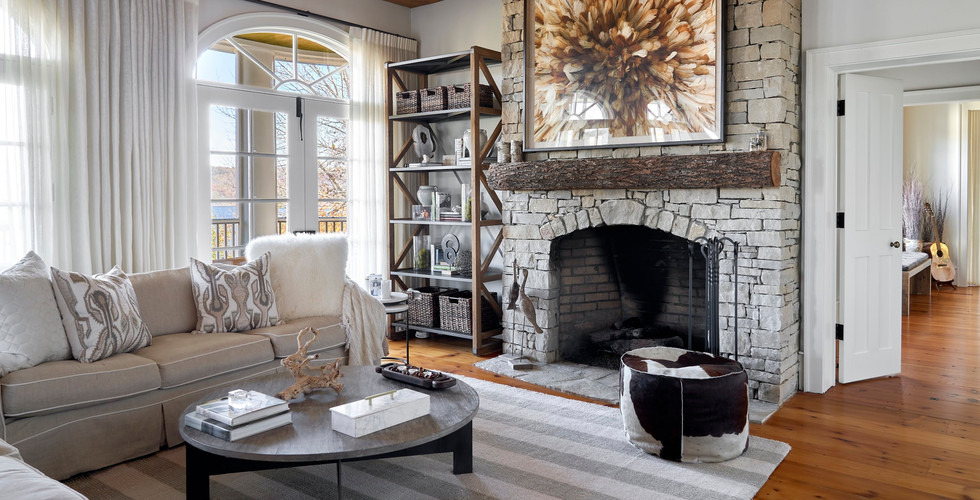 Siren's Lure Luxurious Living Room