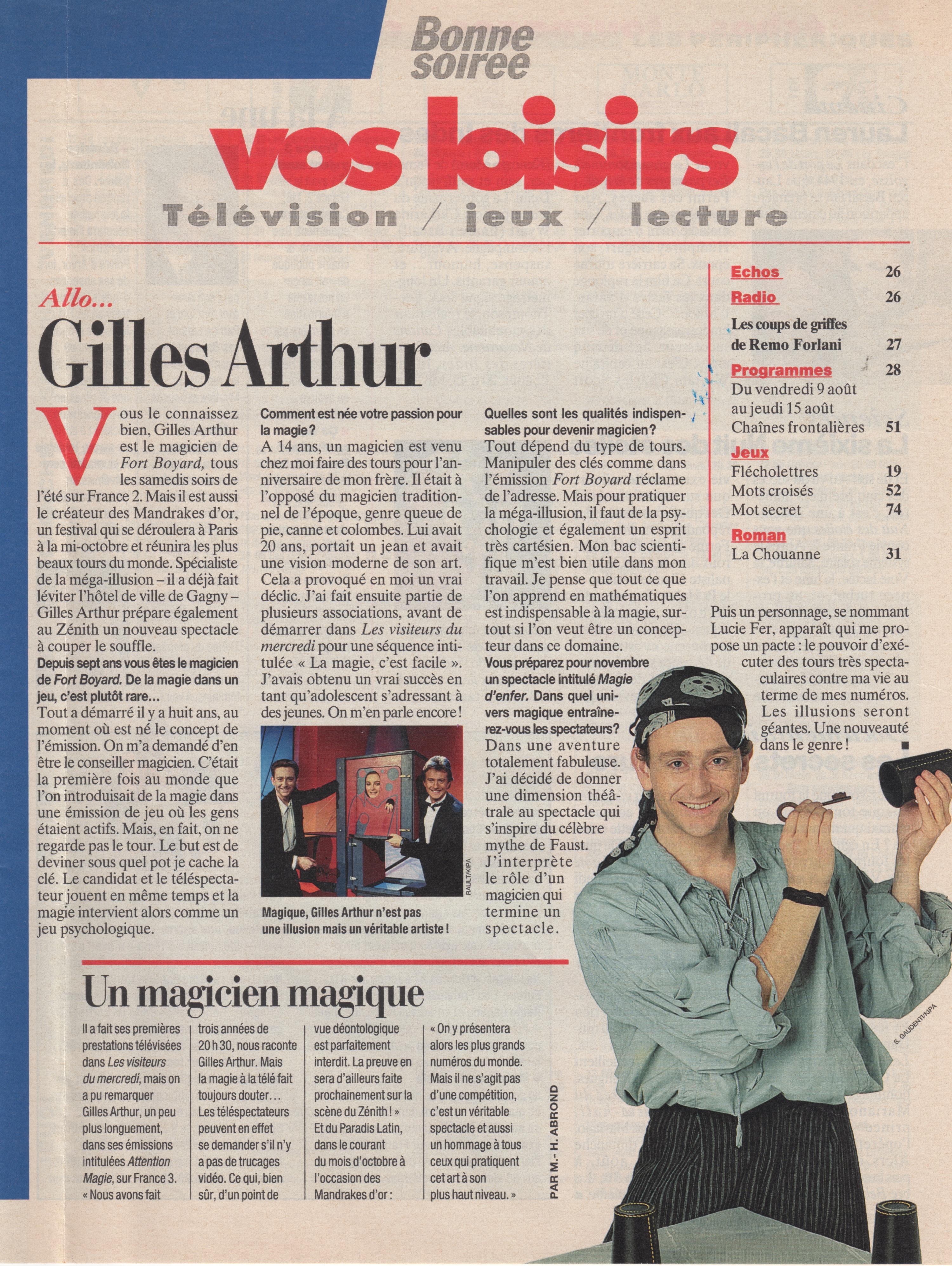 Bonne Soirée Aout 1996