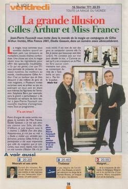 Télé Magazine Février 2001