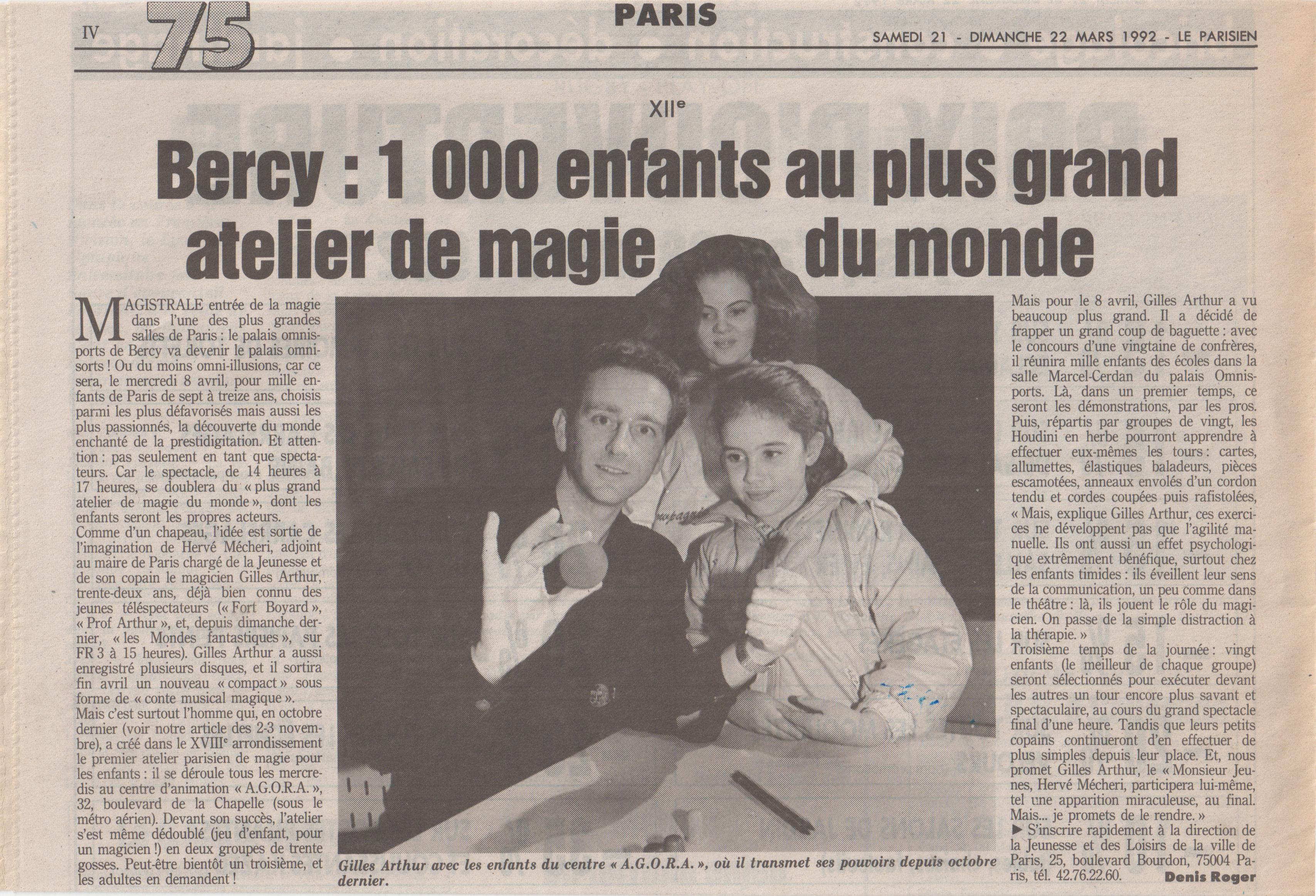 Le Parisien 1992