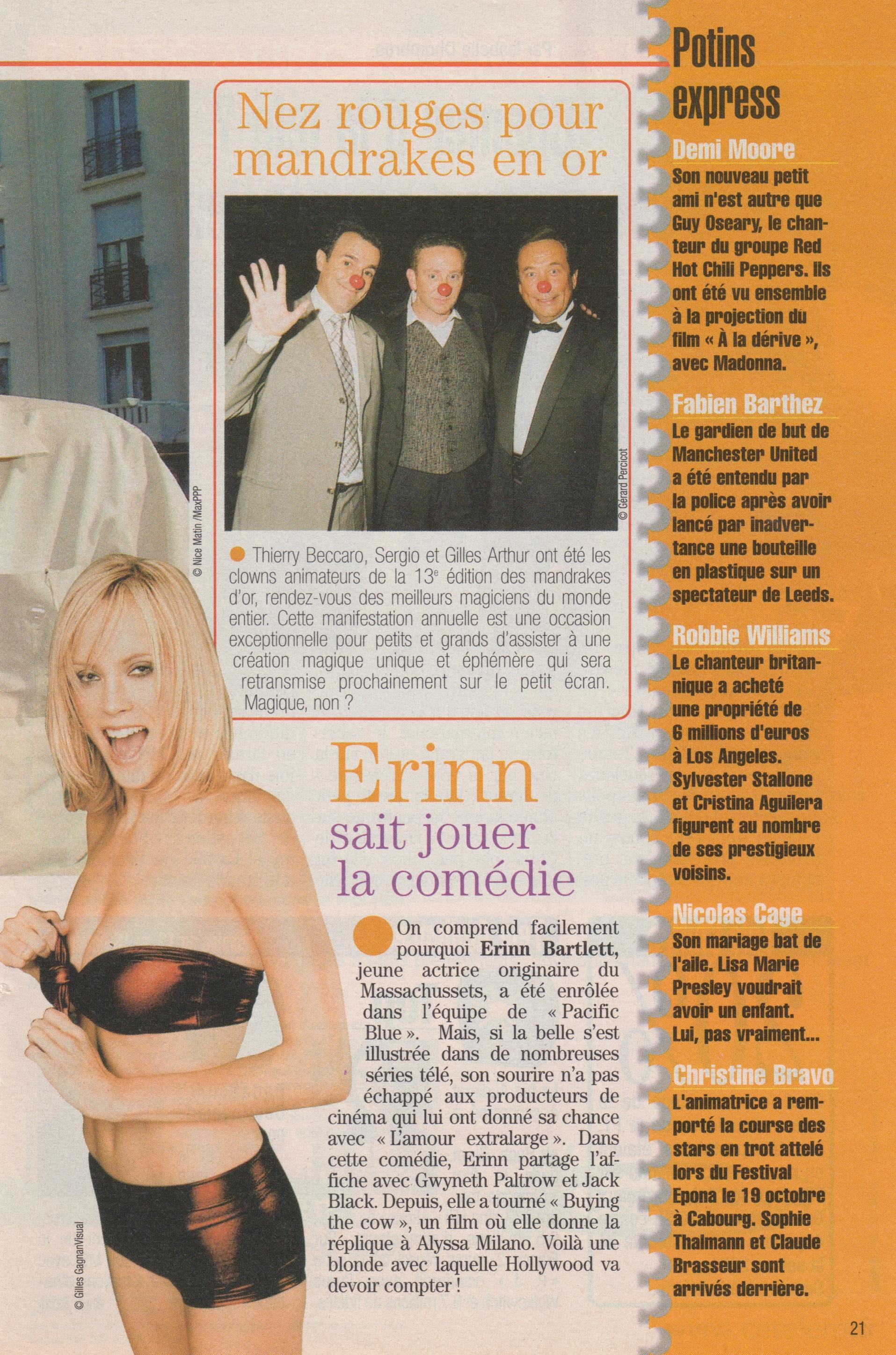 Télé Poche Novembre 2002