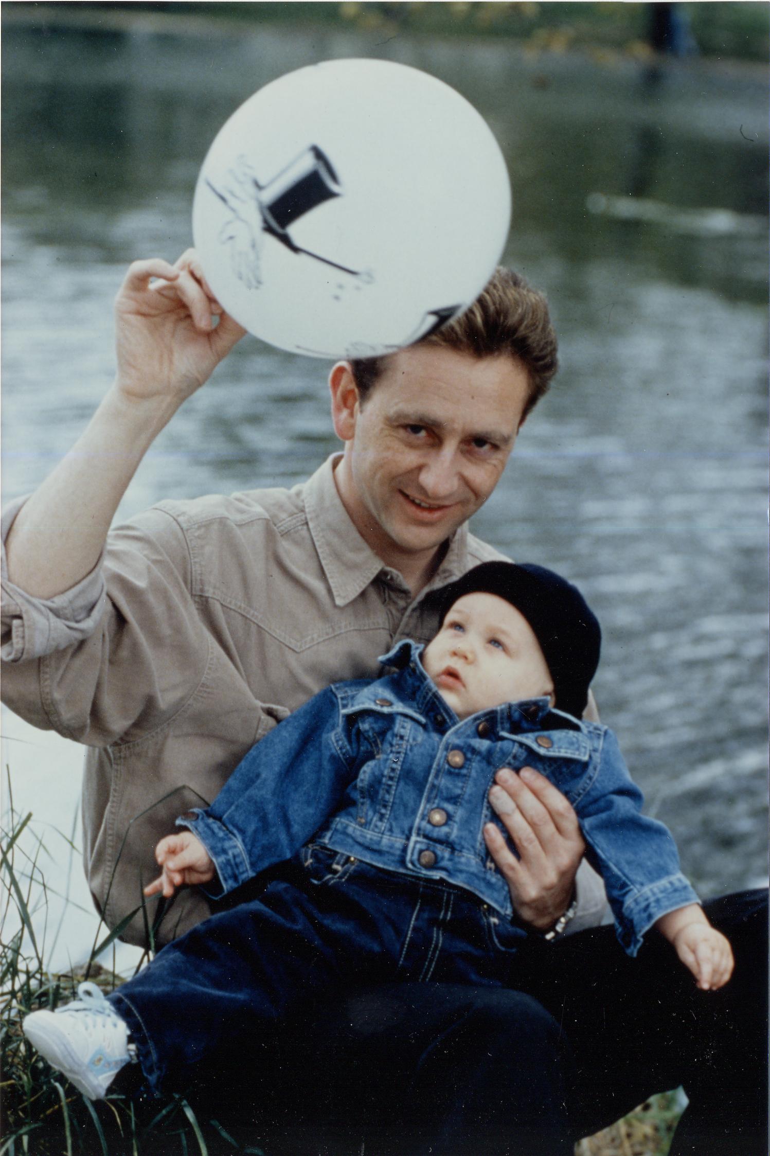 Gilles Arthur et son fils Arthur