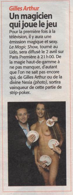 Télé Magazine Mars 2005
