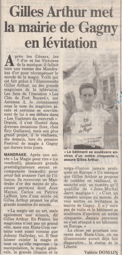 France Soir 1990