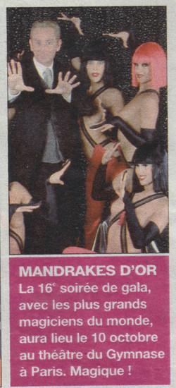 Télé Magazine Octobre 2005