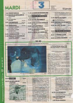 Télé 7 Janvier 1994