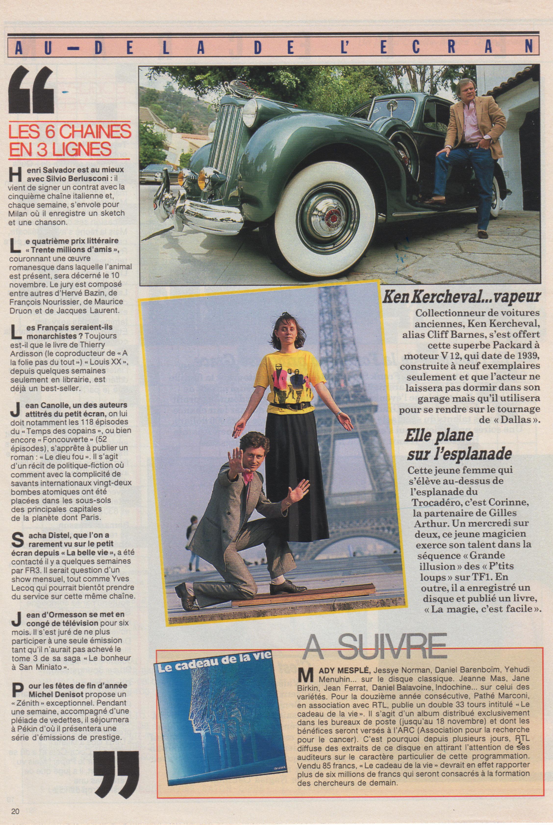 Télé Star 1986
