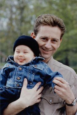 Gilles Arthur et son fils Arthus