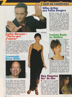 Télé 7 Octobre 2001