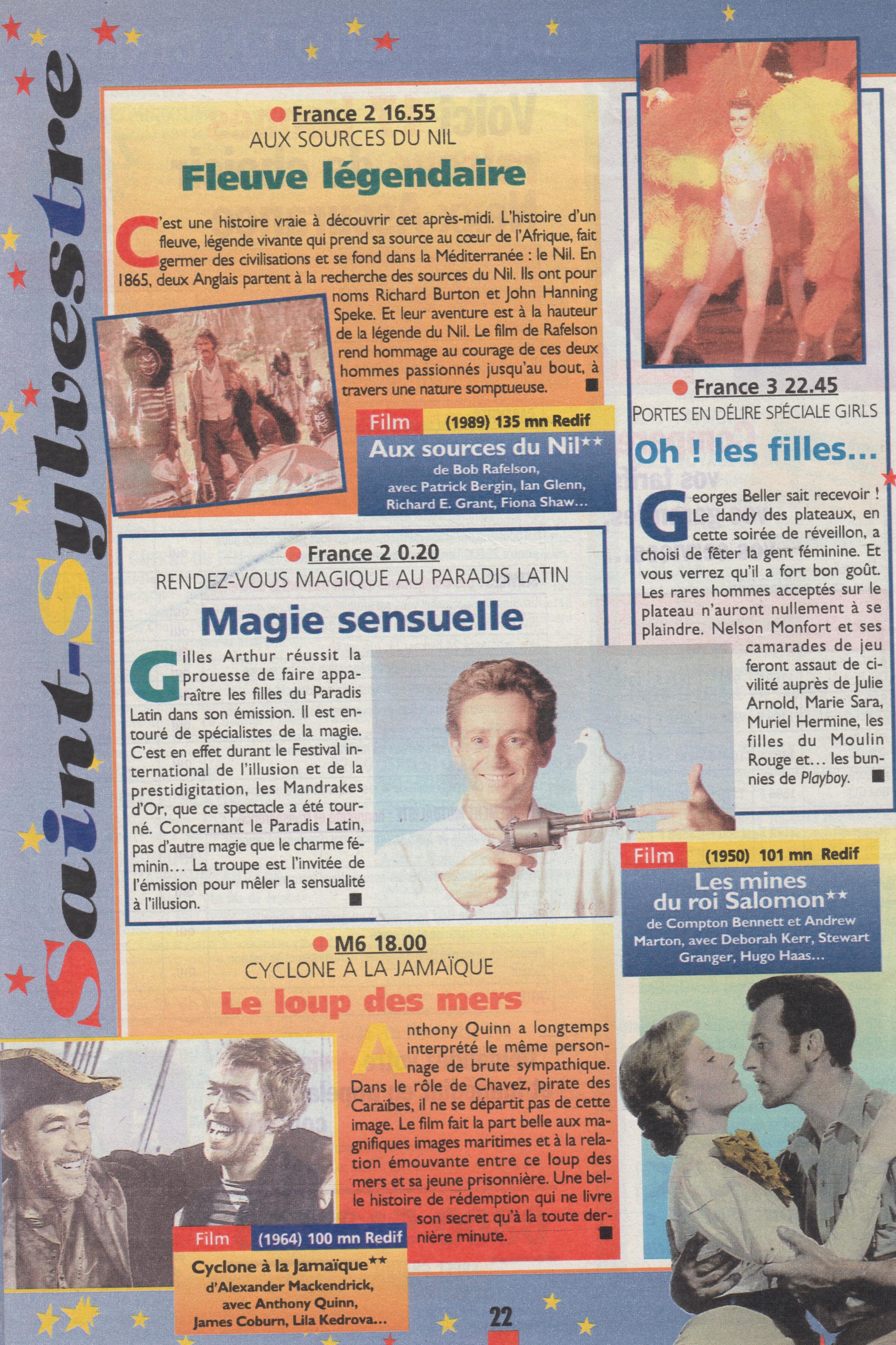 Télé Magazine Décembre 1998