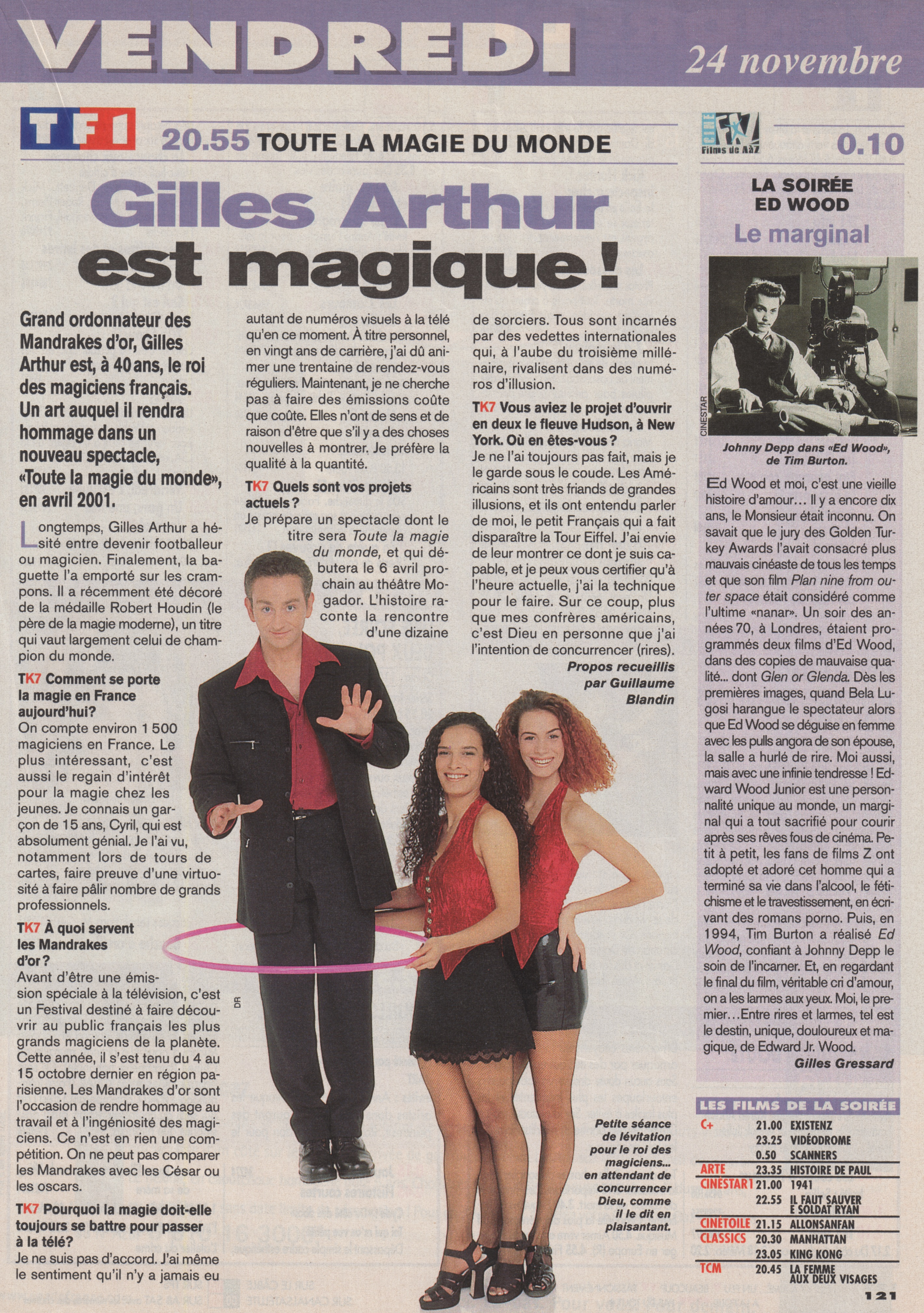 Télé K7 Novembre 2000