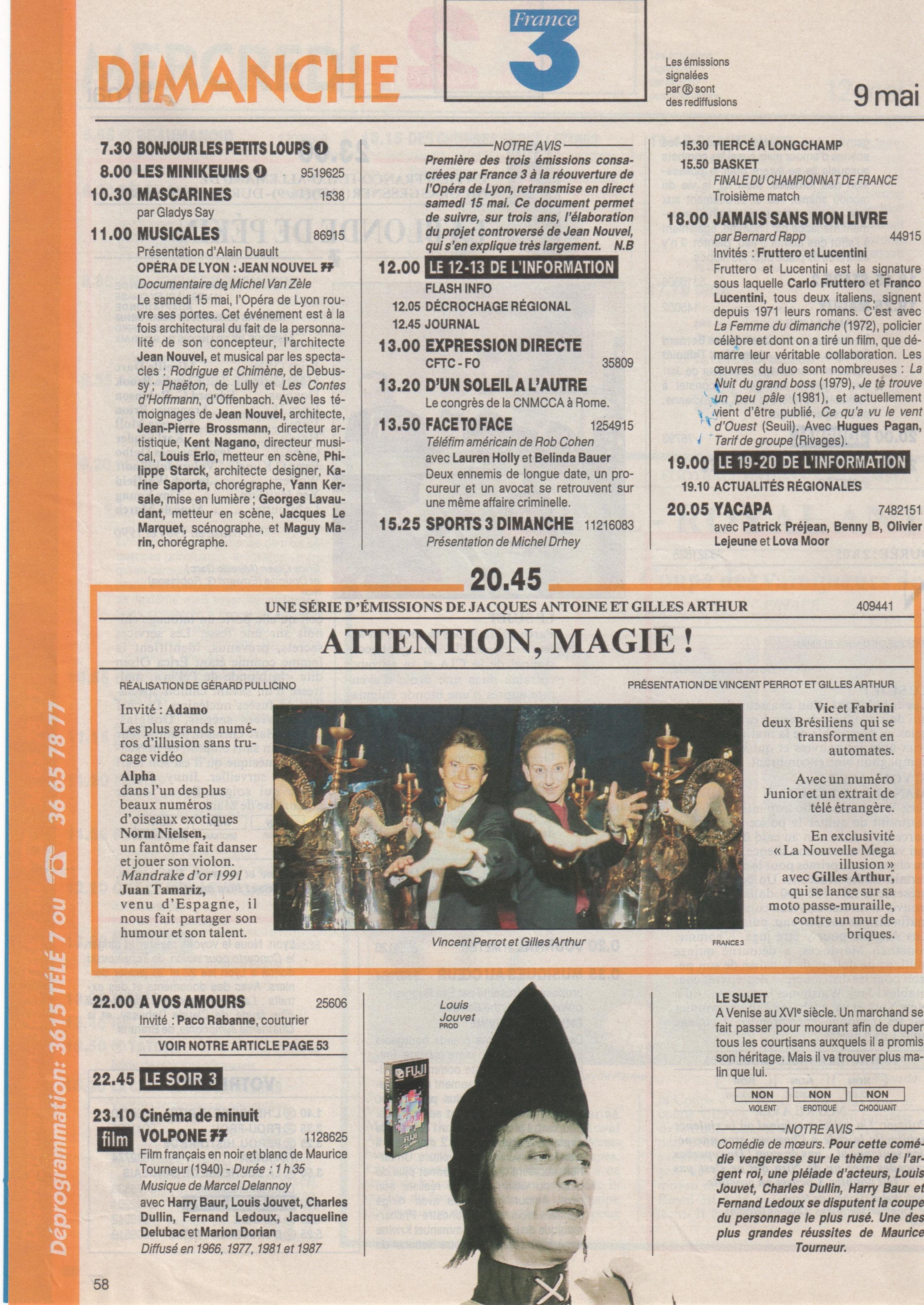 Télé 7 Jours 1993