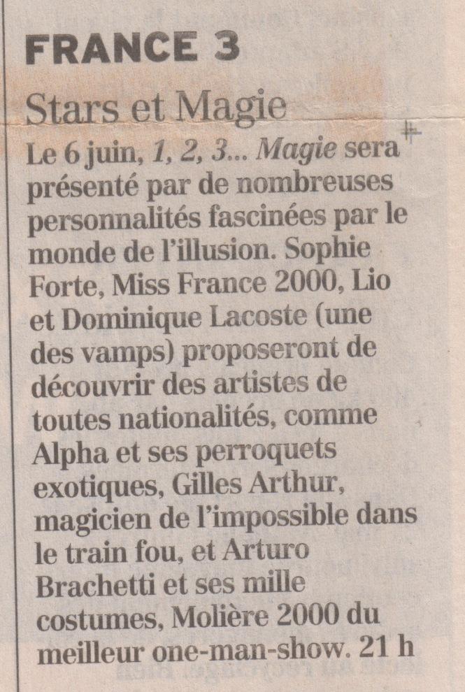 Figaro Juin 2000