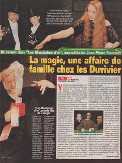 Télé Loisir Octobre 2001