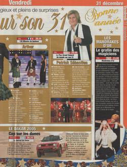Télé Star Décembre 2004