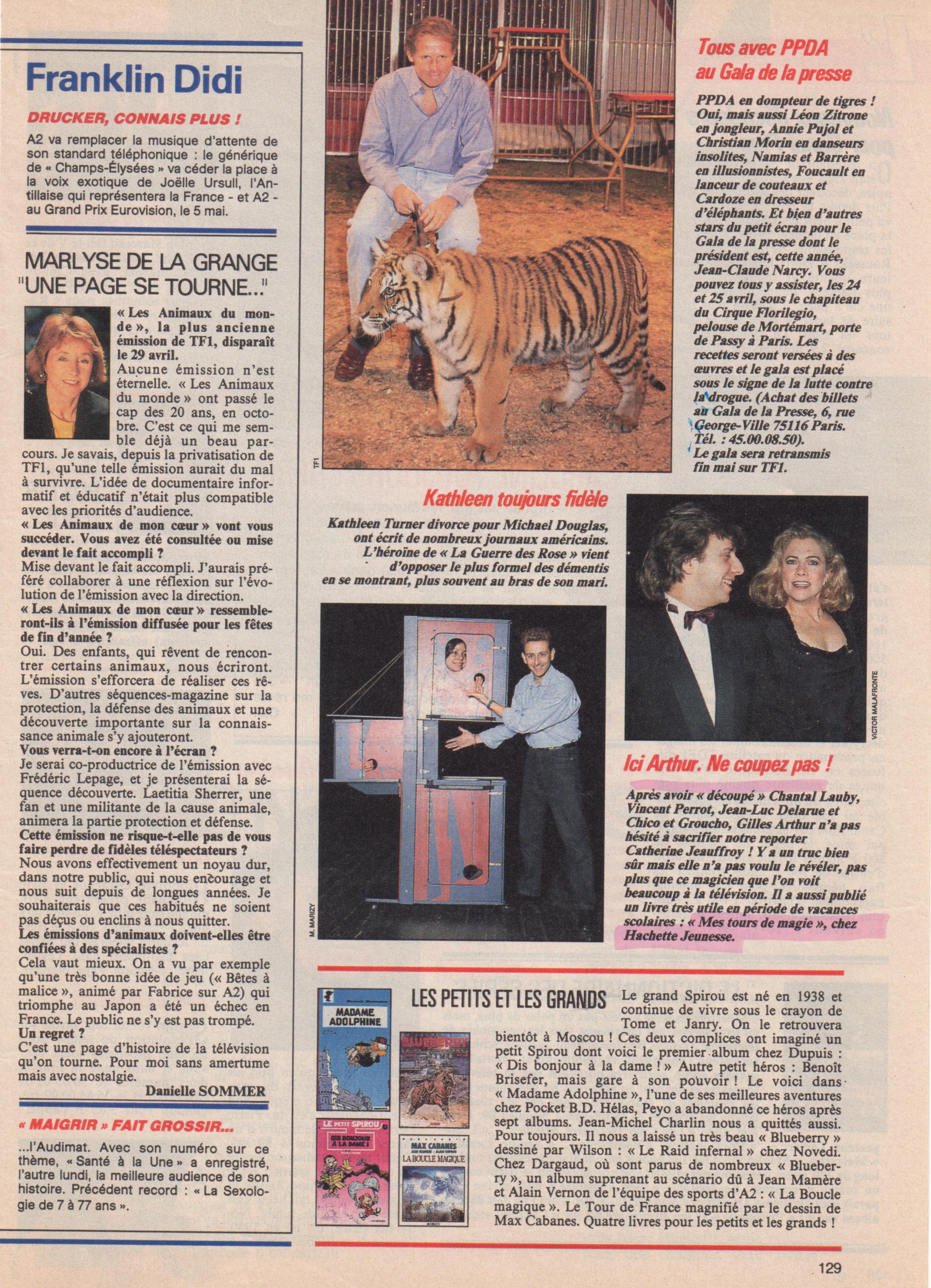 Télé 7 Jours 1990