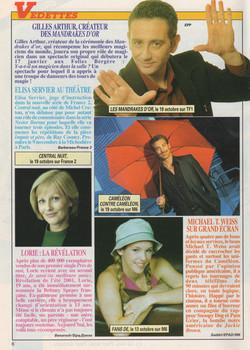 Télé Magazine Octobre 2001