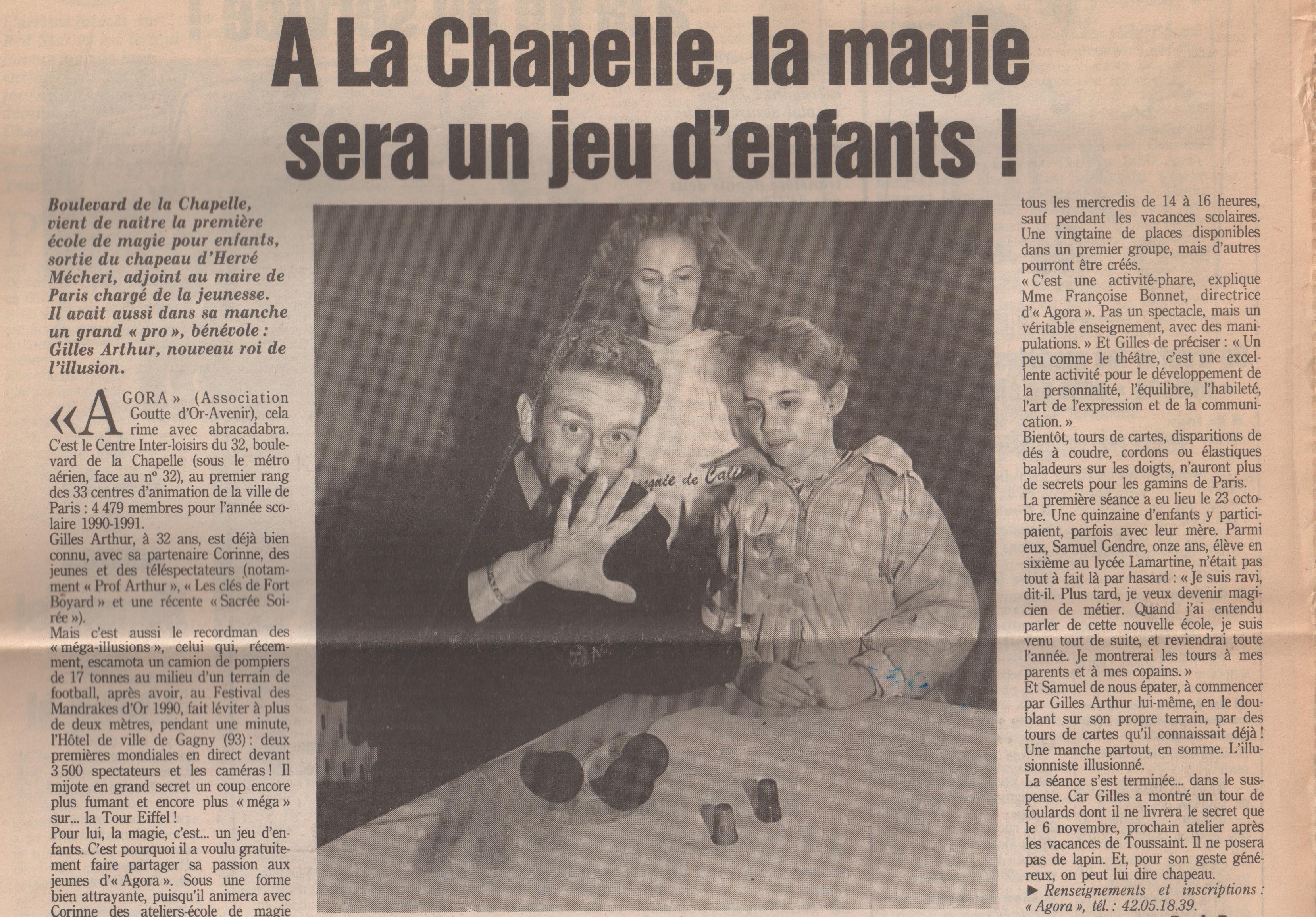 Le Parisien 1991