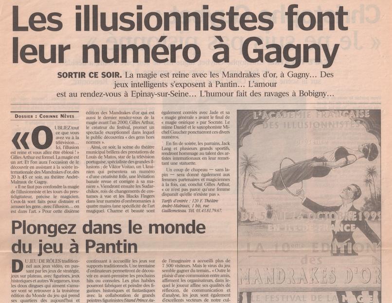 Le Figaro 1999