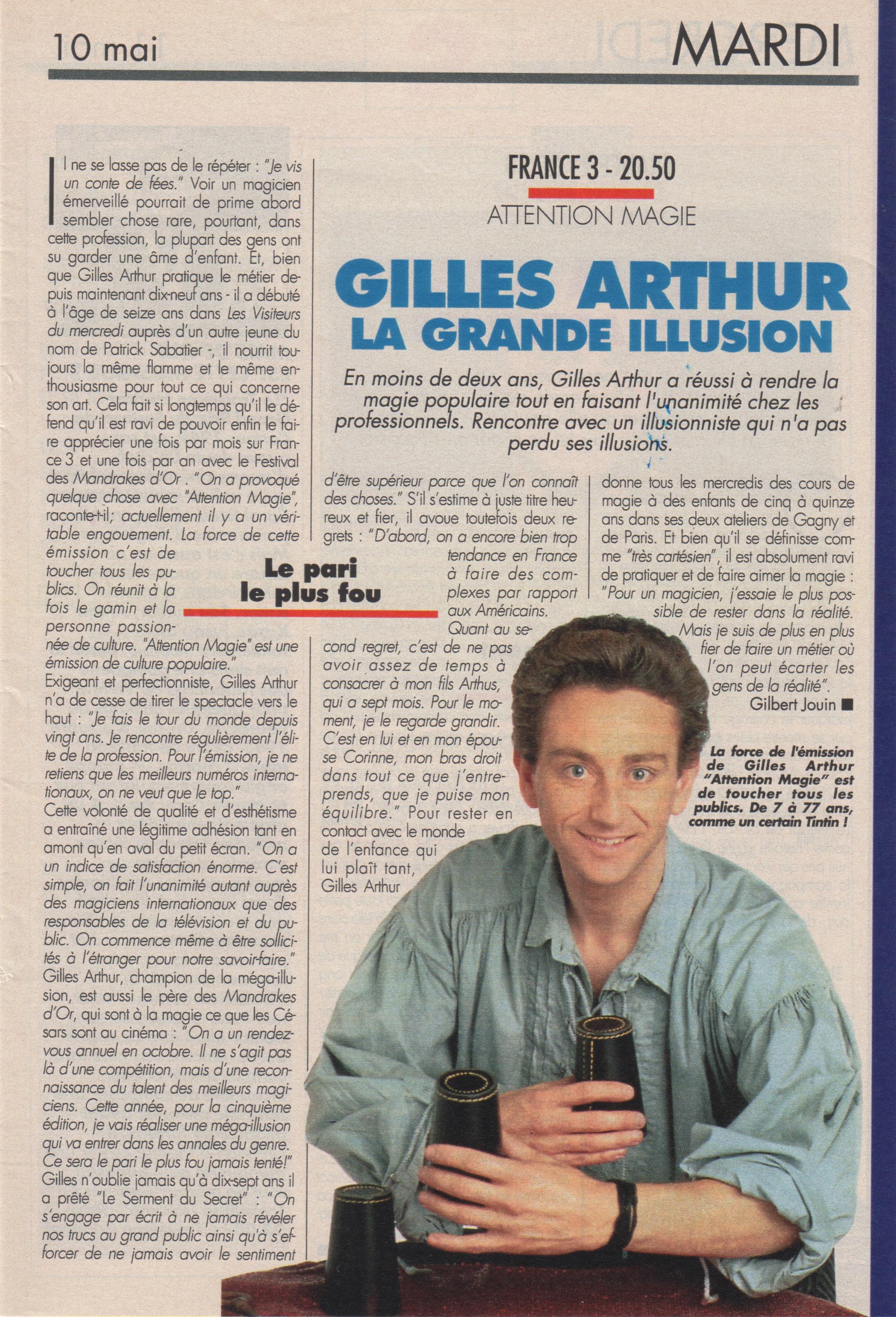 Télé Magazine Mai 1994