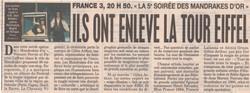 France Soir Novembre 1994