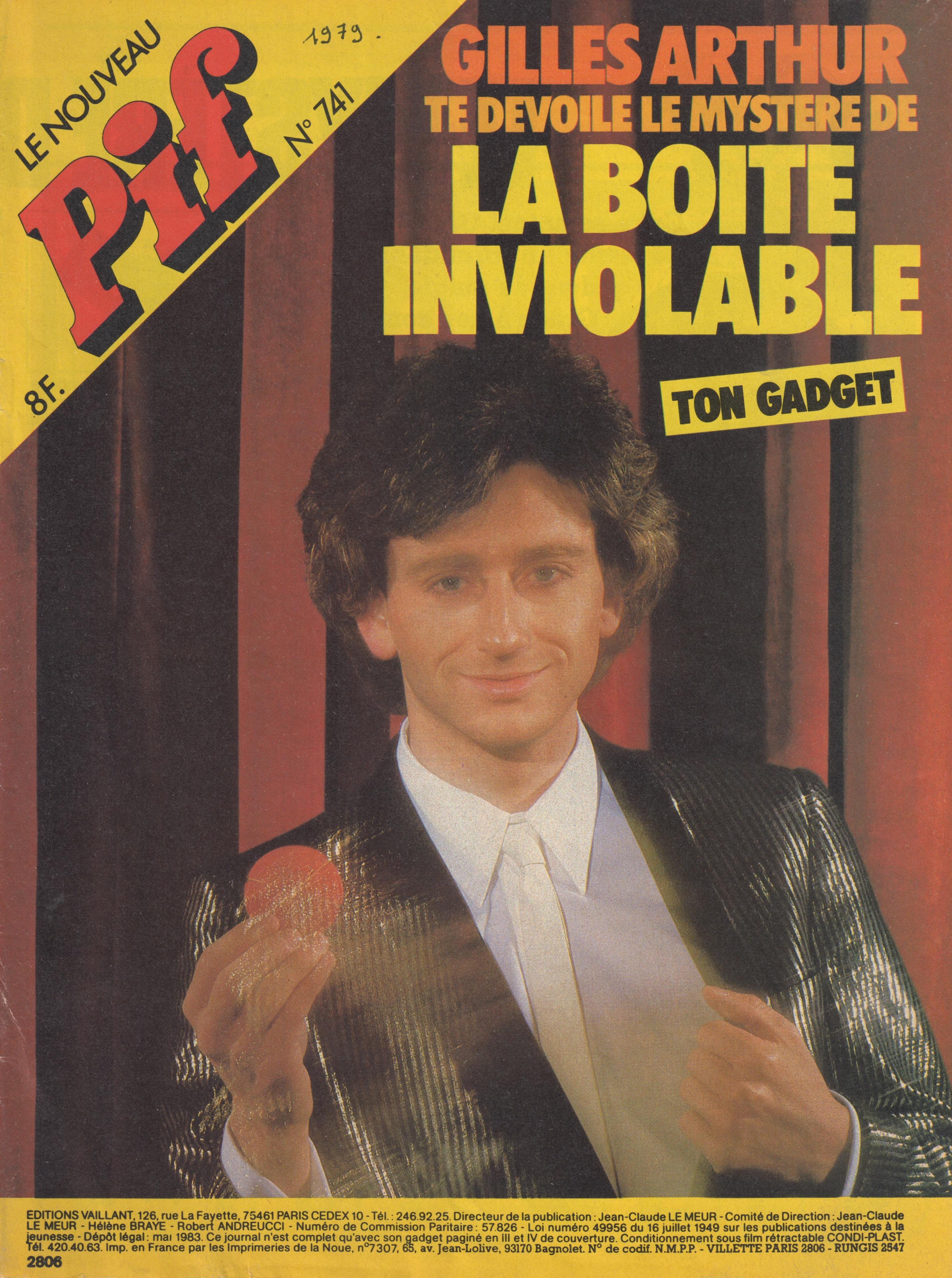 Pif Gadget 1979