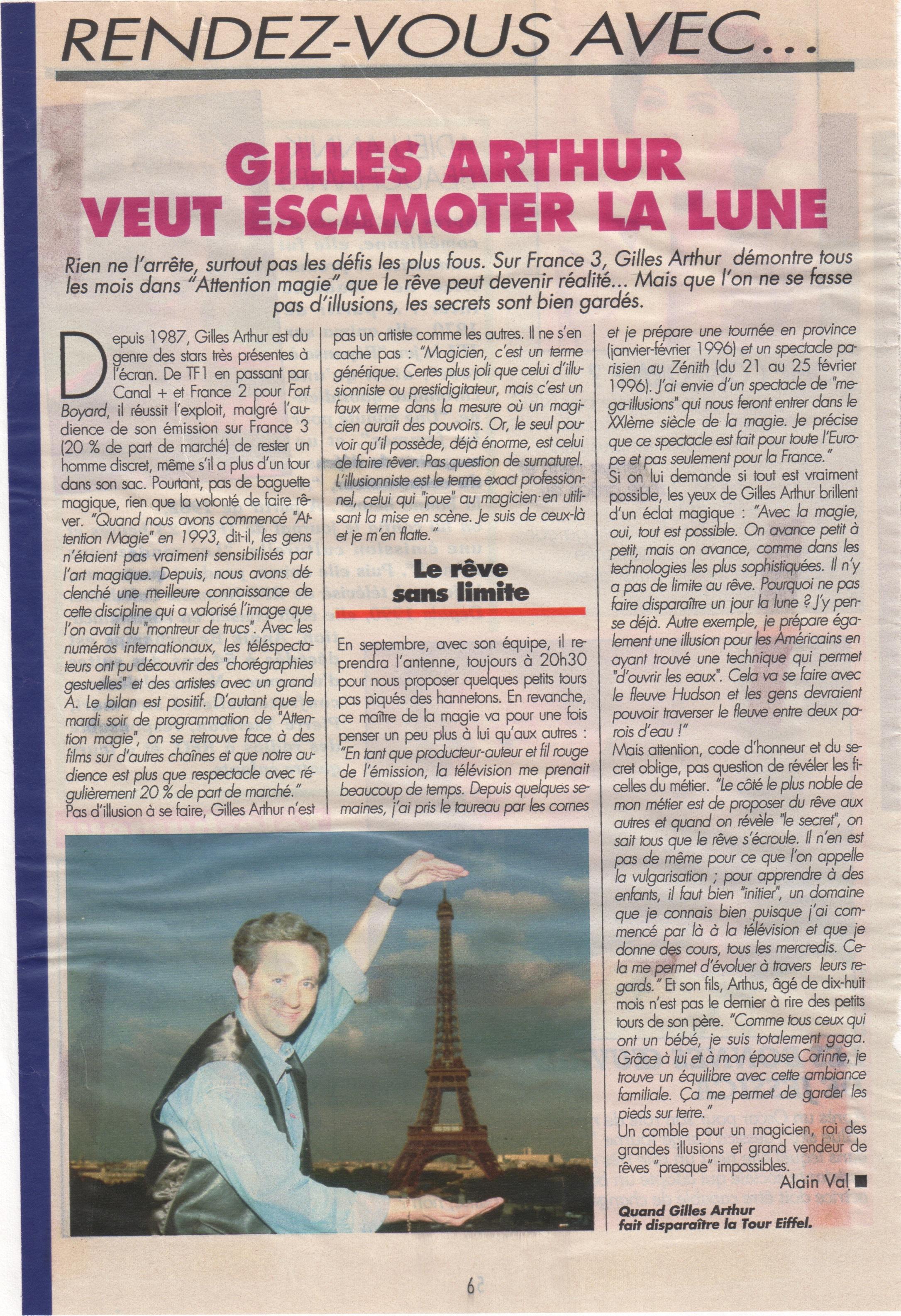 Télé Magazine mai 1995