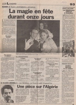 Echo 93 Octobre 1997