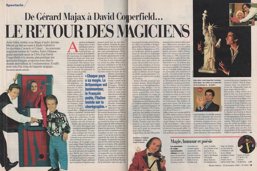 Bonne Soirée Novembre 1996