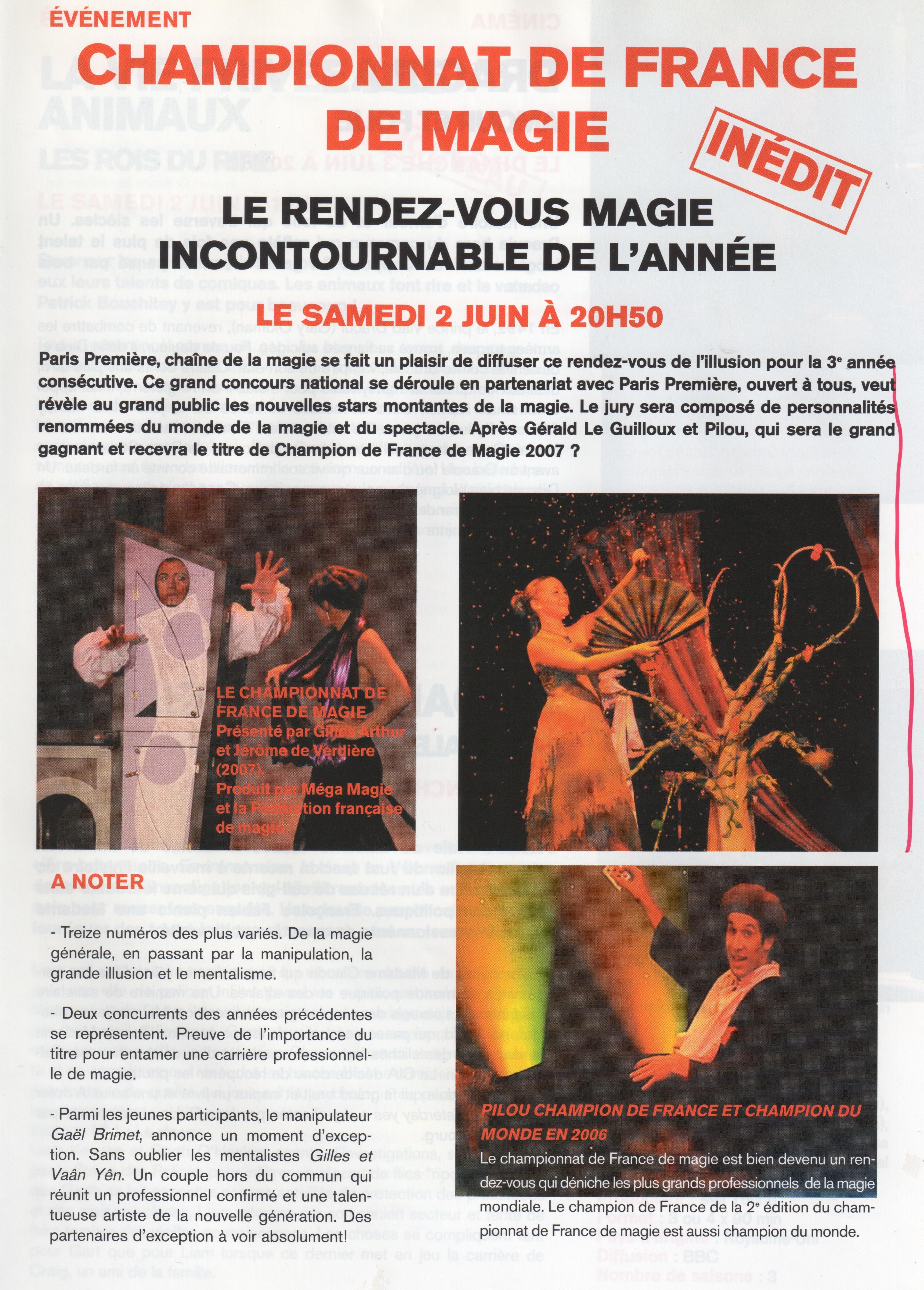 Magazine Juin 2007