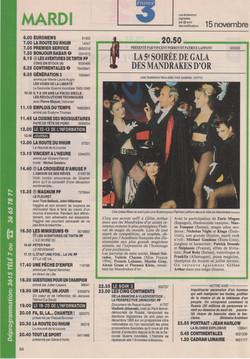 Télé 7 Novembre 1994