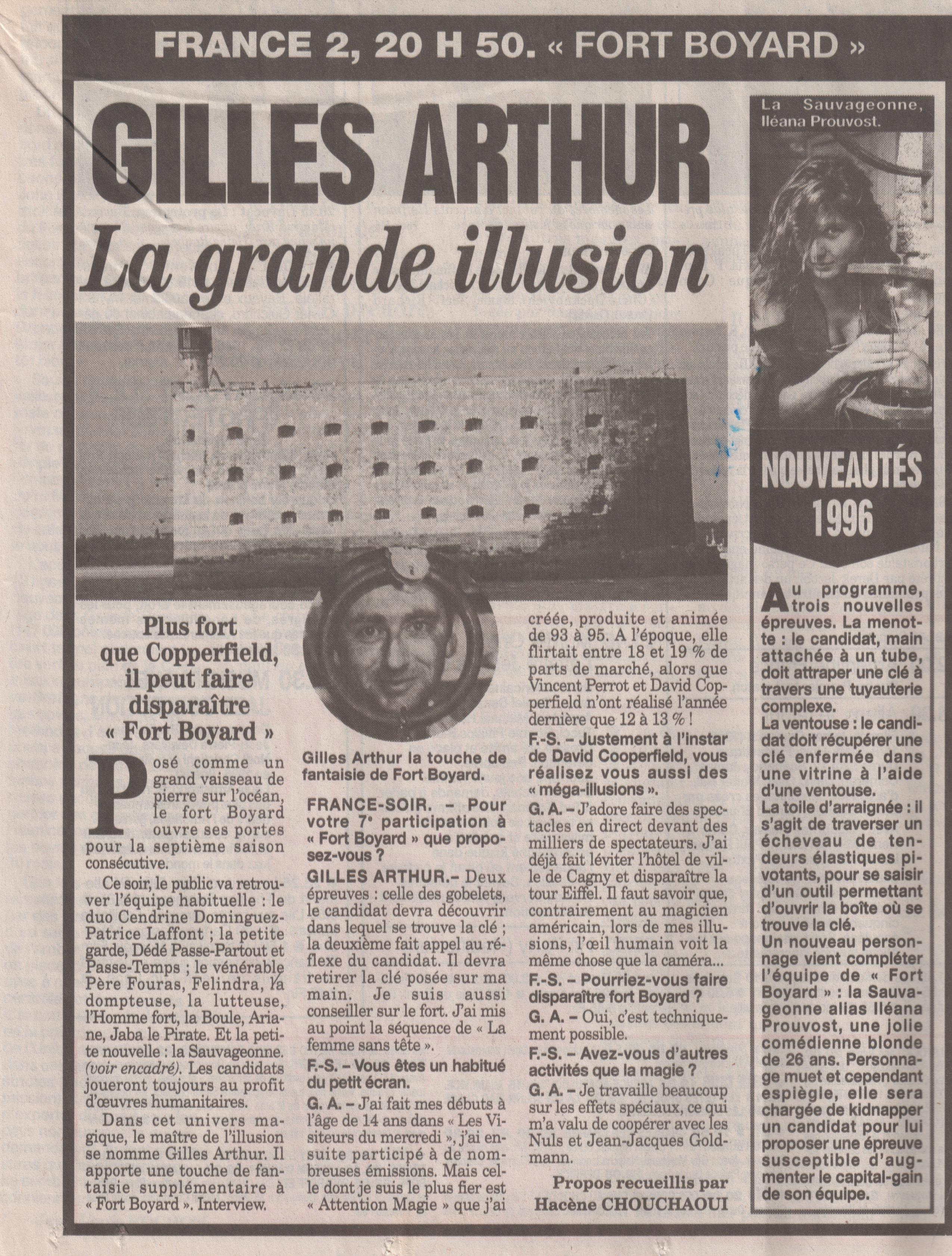 France Soir Juin 1996