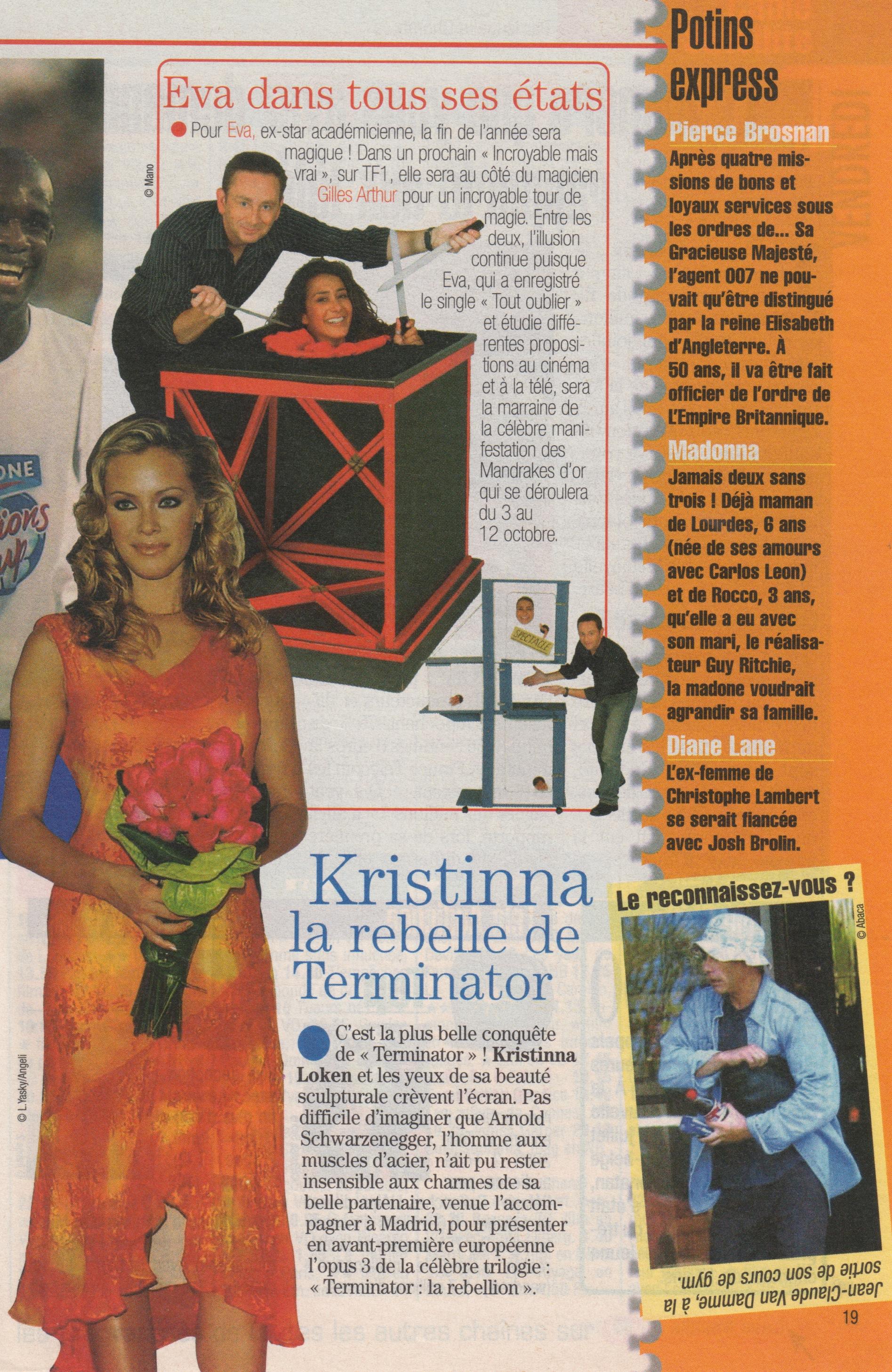 Télé Poche Aout 2003
