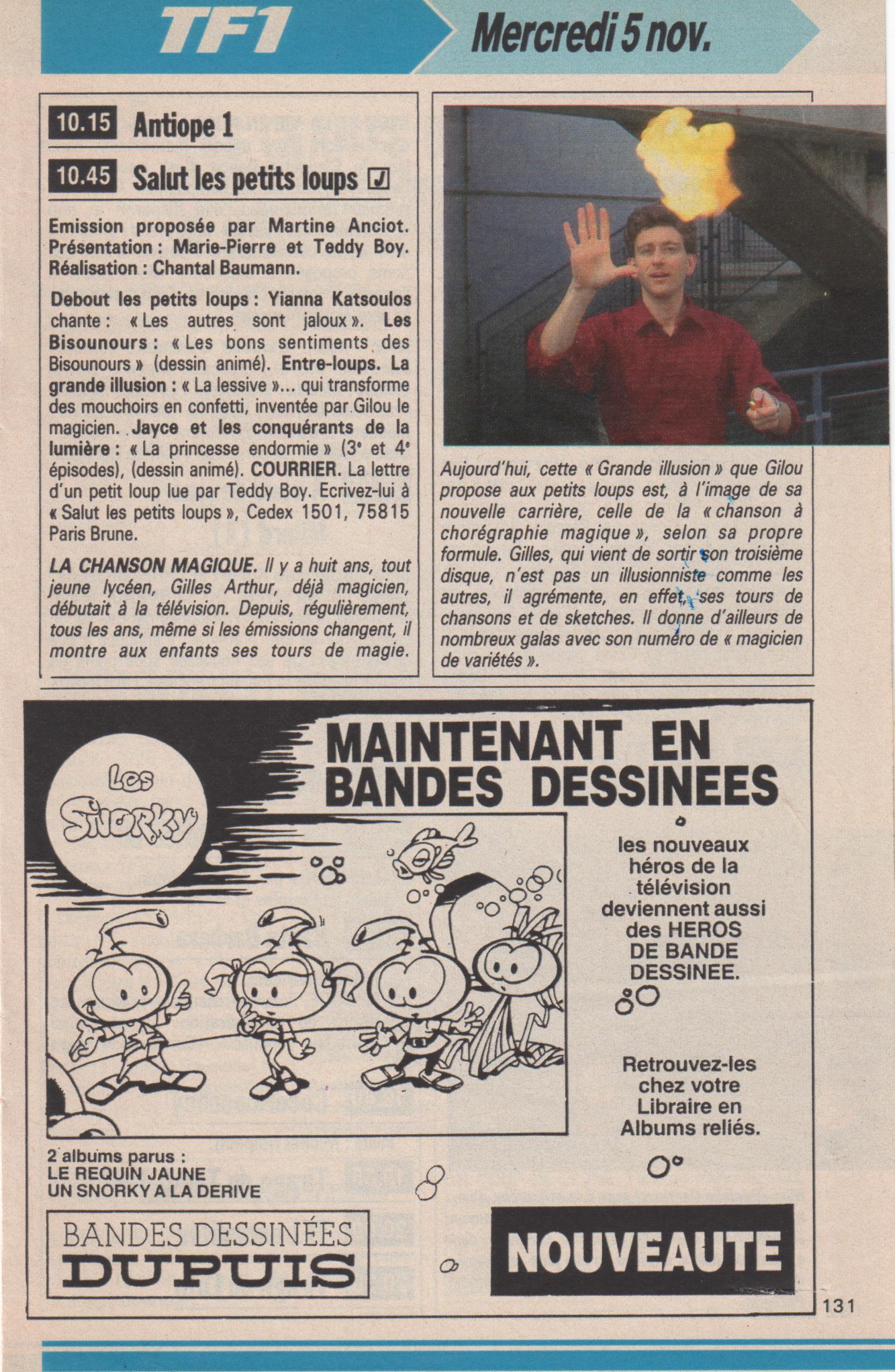 Télé Poche 1986
