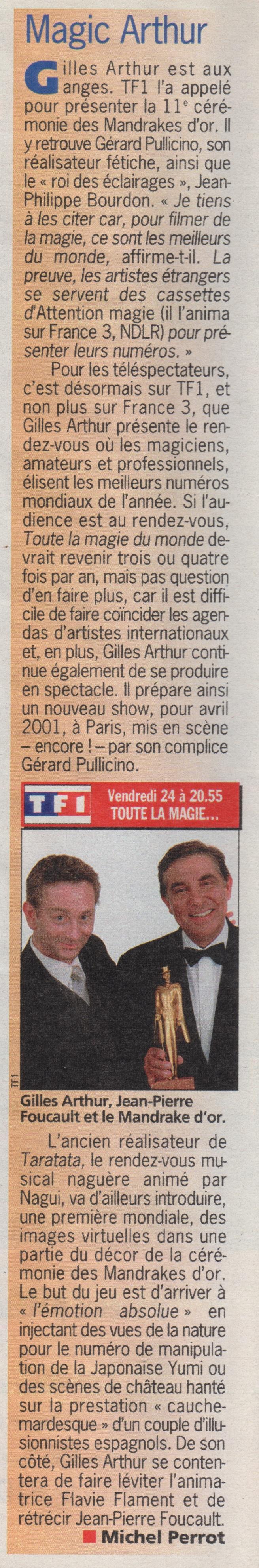 TV Hebdo Novembre 2000