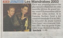 France Soir Avril 2004