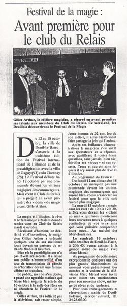L'Echo 1992