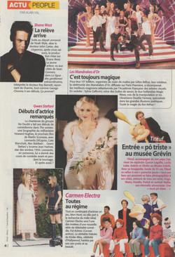 Télé Magazine Novembre 2004