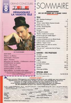 Télé Magazine Mars 1995