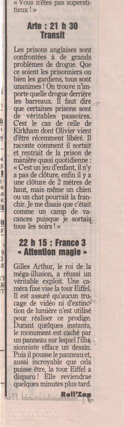 Le Parisien Novembre 1994