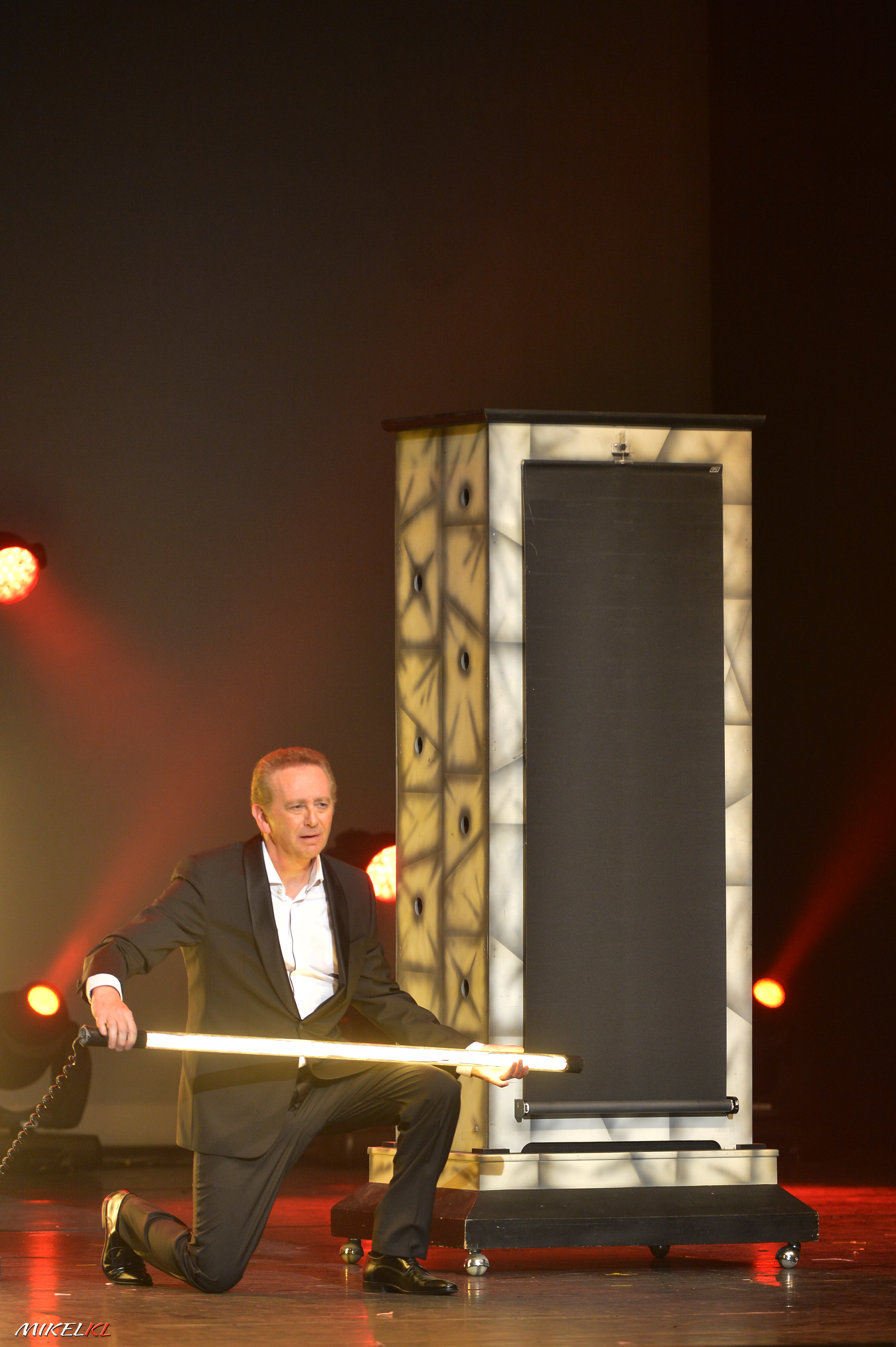 Gilles Arthur à l'Olympia