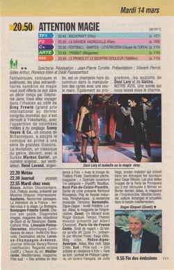 Télé Poche Mars 1995