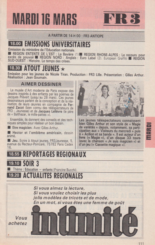 Télé Poche 1982