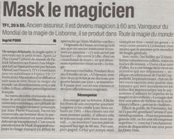 France Soir Novembre 2000